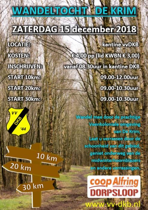 Wandeltocht en hardloopwedstrijd De Krim - Visit Hardenberg