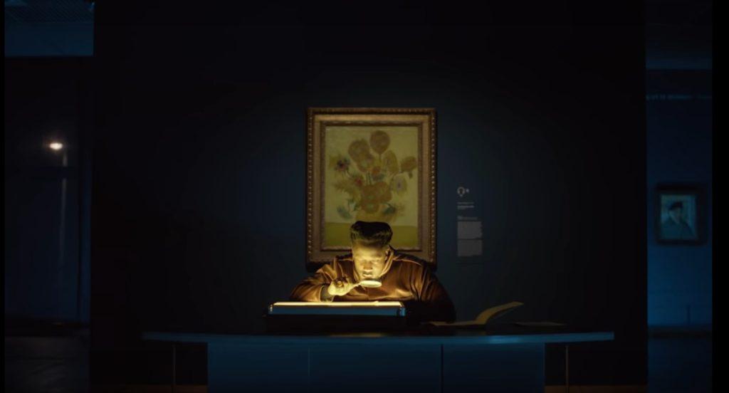 Van Gogh belicht