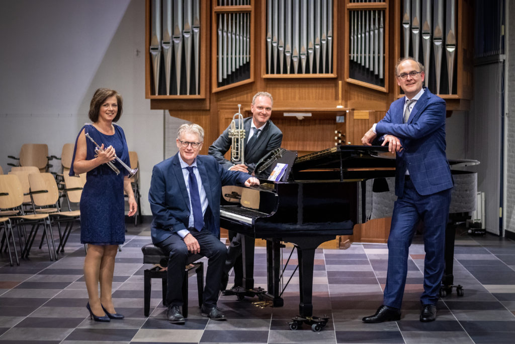 Zomerconcert trompetduo Arjan en Edith Post, pianist Johan Bredewout en organist Harm Hoeve - Visit Hardenberg