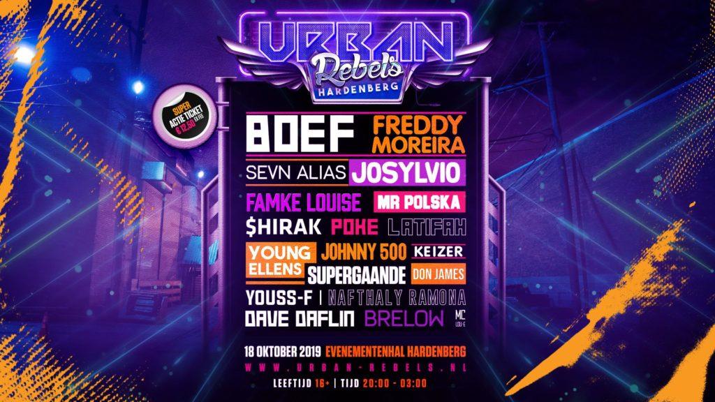 Urban Rebels (uitverkocht) - Visit Hardenberg