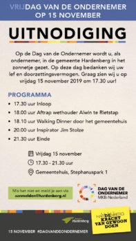 Dag van de Ondernemer - Visit Hardenberg