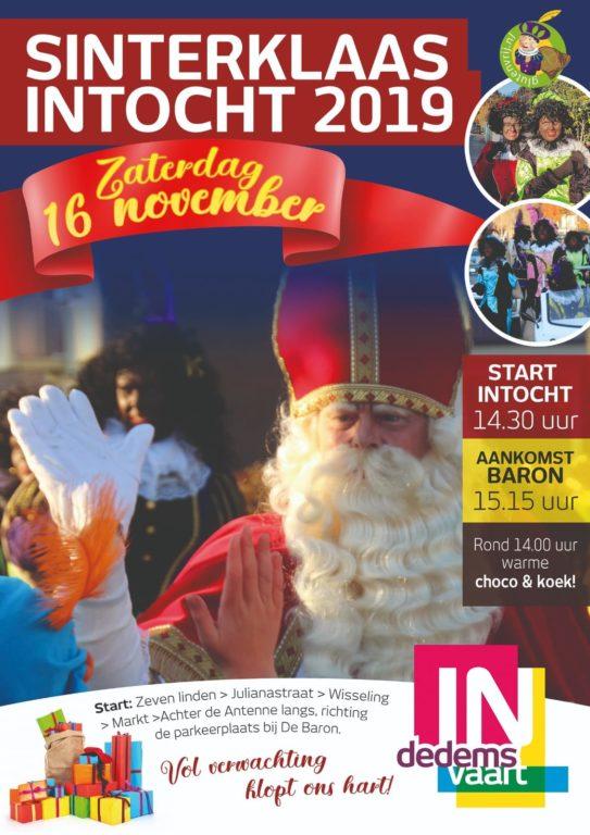 Intocht Sinterklaas Dedemsvaart - Visit Hardenberg