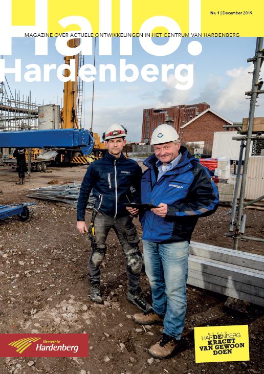 Hallo! Hardenberg: magazine over actuele ontwikkelingen in het centrum van Hardenberg