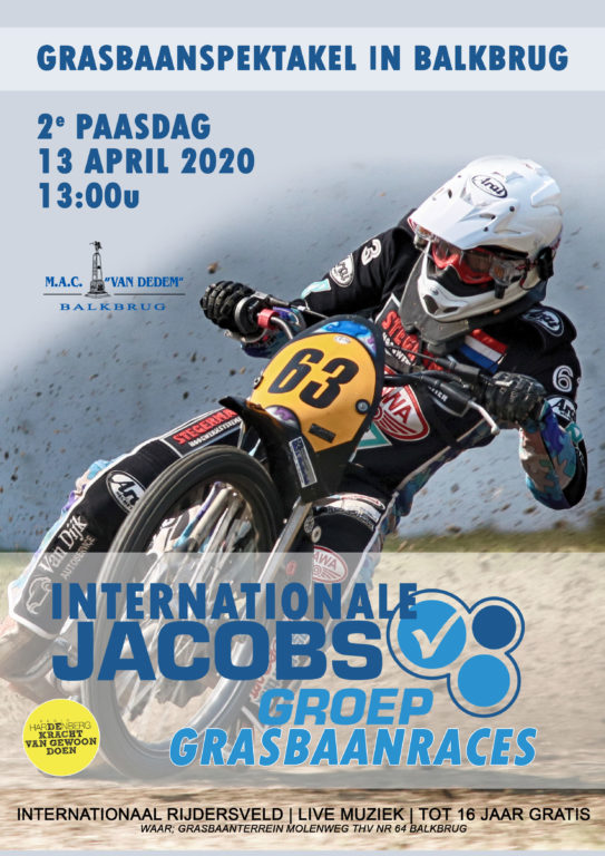 Internationale Jacobs Groep Grasbaanraces in Balkbrug (GAAT NIET DOOR) - Visit Hardenberg
