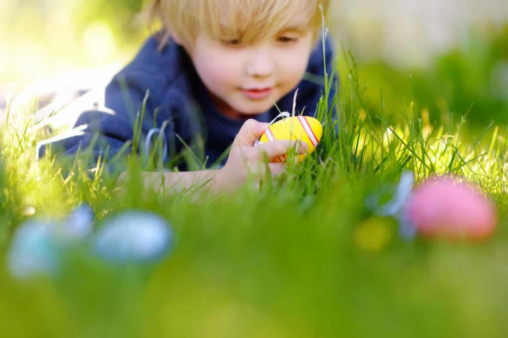 Tip 3: Eieren verstoppen/zoeken