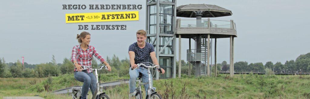 Regio Hardenberg, met <1,5m> afstand de leukste!