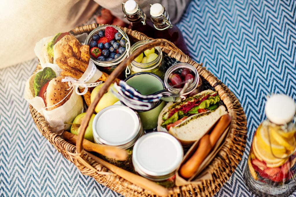 Picknick met (h)eerlijke producten uit de streek