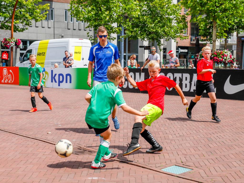 KNVB Straatvoetbal - Visit Hardenberg