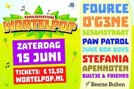 Wortelpop 2019 | 14-15-16 Juni - Visit Hardenberg